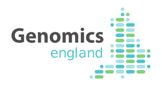 Logo of Genomics England
